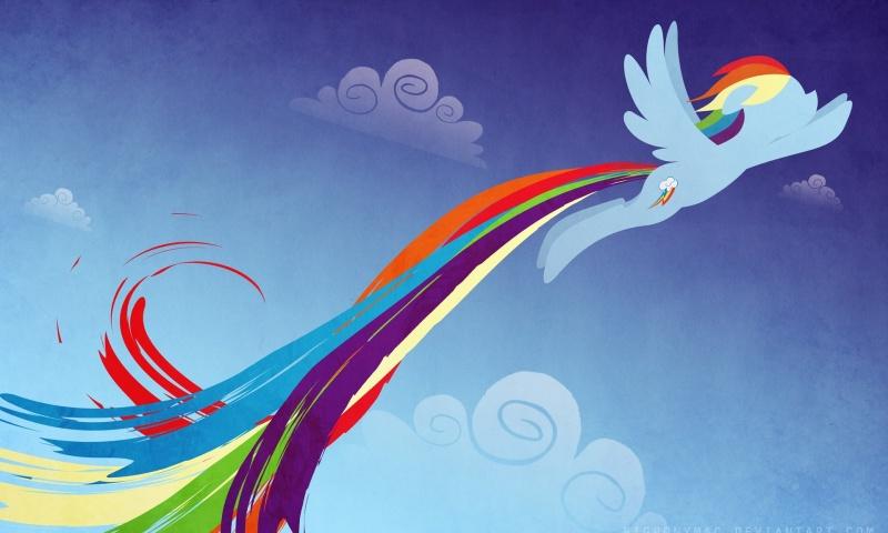 изображение радуги: